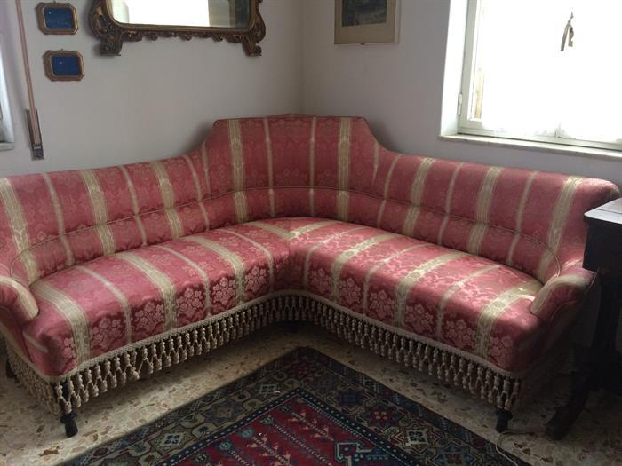Divano Color Rosa Antico : Divano antico epoca fine su portobello arredamento casa