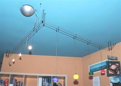 Lampade luci design a soffitto sistema di illuminazione a